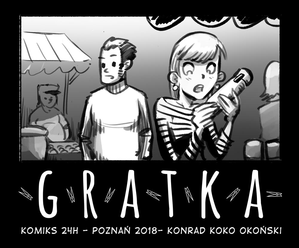 Gratka – komiks 24-godzinny 2018