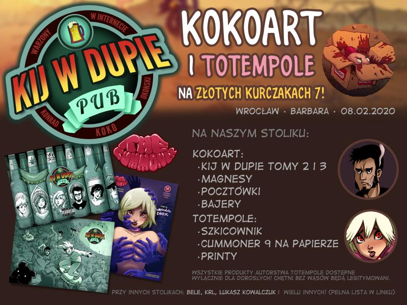 Kokoart na Złotych Kurczakach 7 we Wrocławiu!