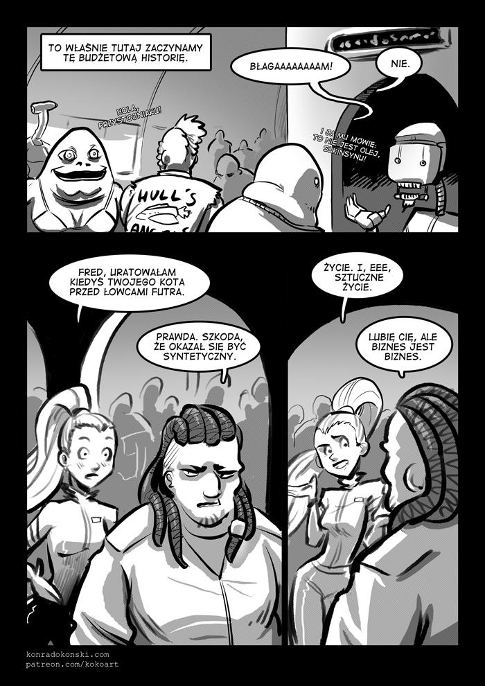 Lewa Misja – komiks 24h 2017 – strona 3