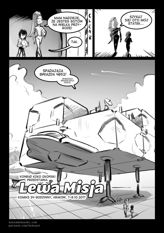Lewa Misja – komiks 24h 2017 – strona 8