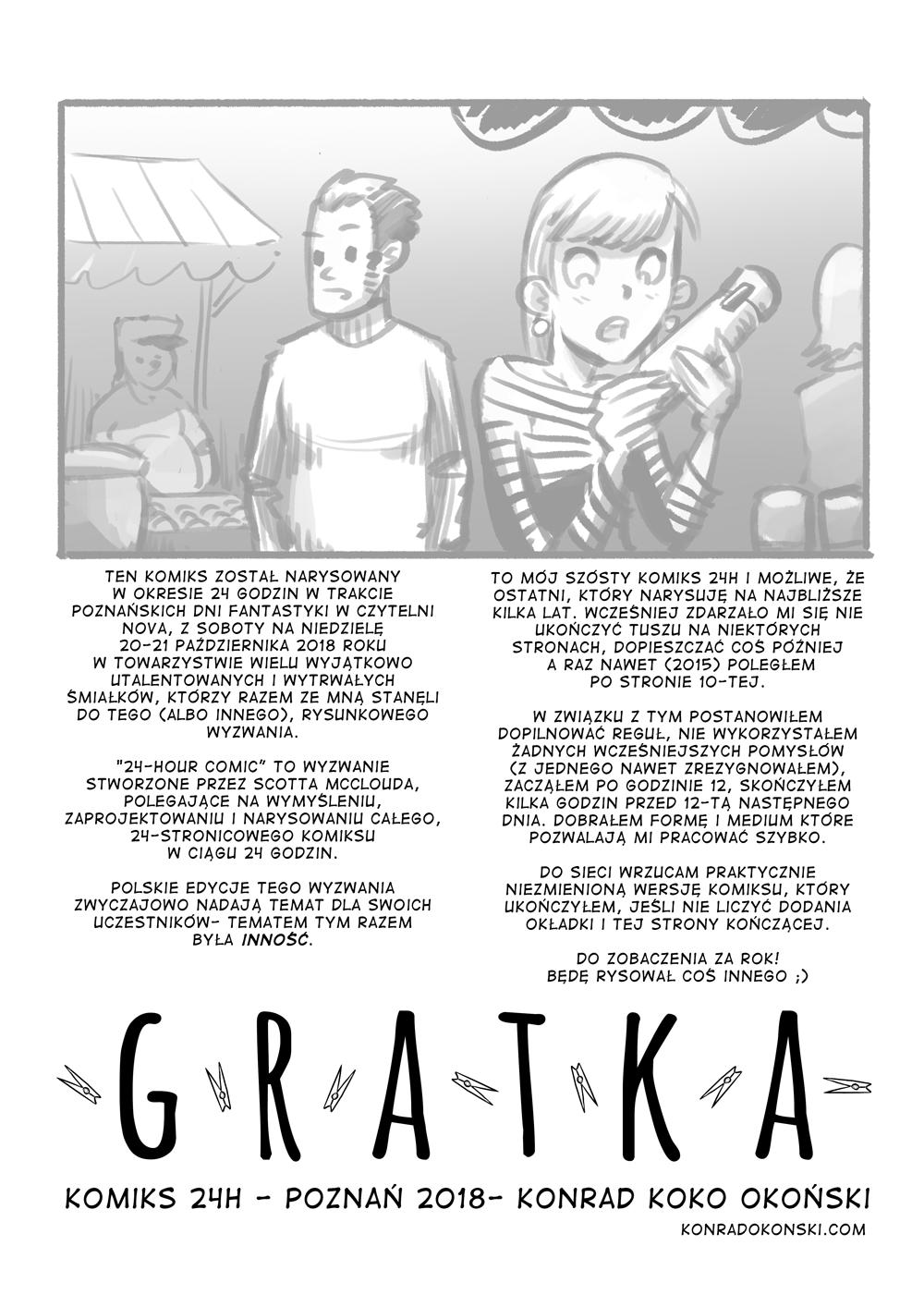 Gratka – komiks 24h – posłowie