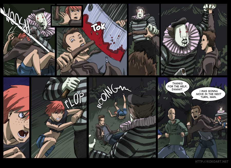Page 23 Action Scene Etcetera
