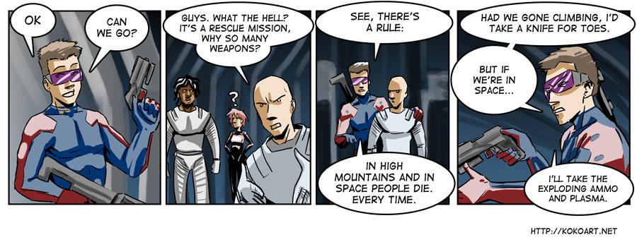 In Space You Die