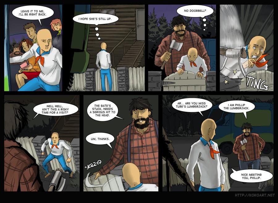 Page 3 Phillip The Lumberjack