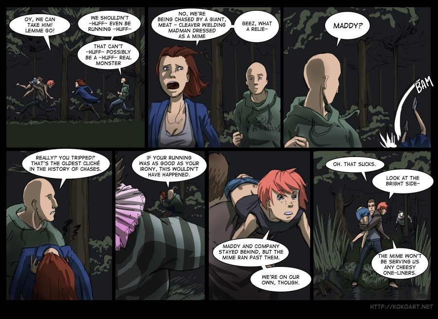Page 24 Quick Legs Beat Sharp Tongue